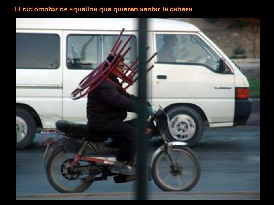 El ciclomotor de aquellos que quieren sentar la cabeza