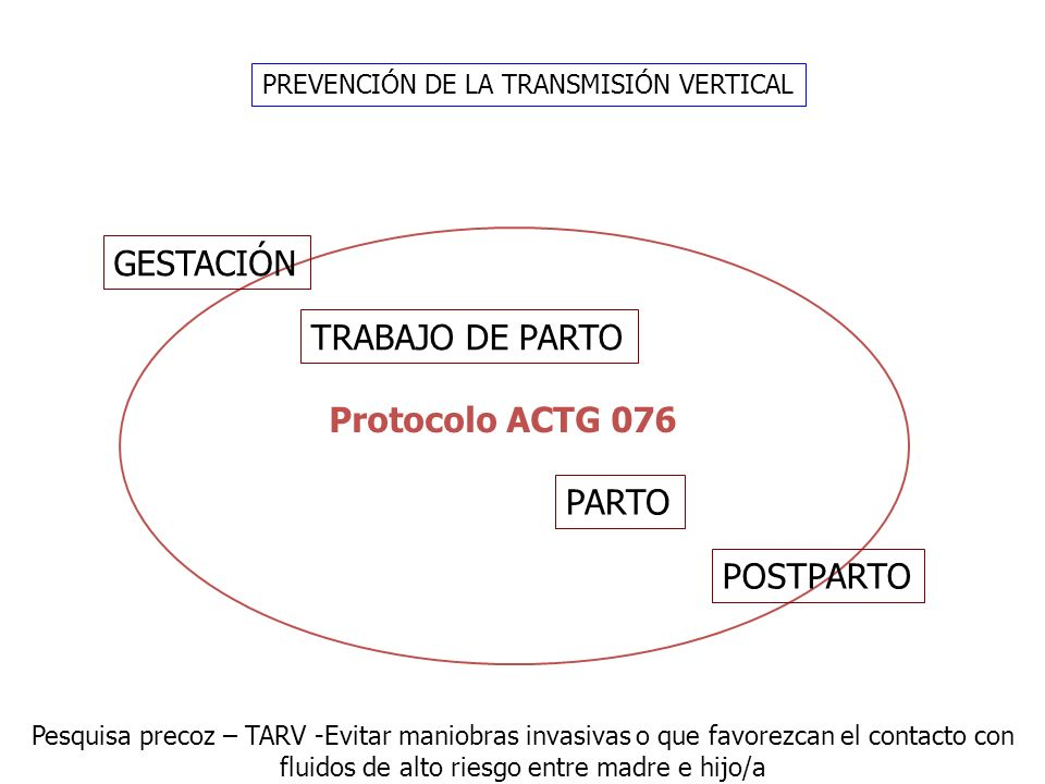 PREVENCIÓN DE LA TRANSMISIÓN VERTICAL