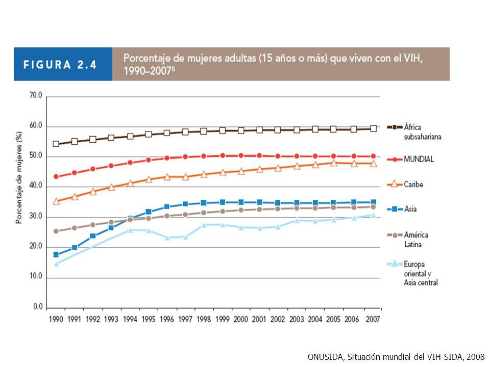 ONUSIDA, Situación mundial del VIH-SIDA, 2008