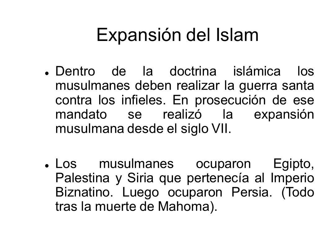 Expansión del Islam