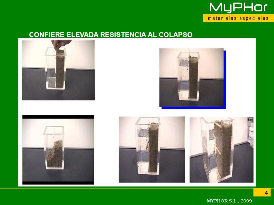CONFIERE ELEVADA RESISTENCIA AL COLAPSO