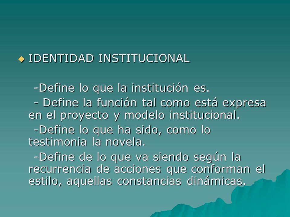 IDENTIDAD INSTITUCIONAL