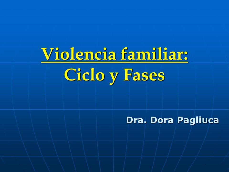Violencia familiar: Ciclo y Fases