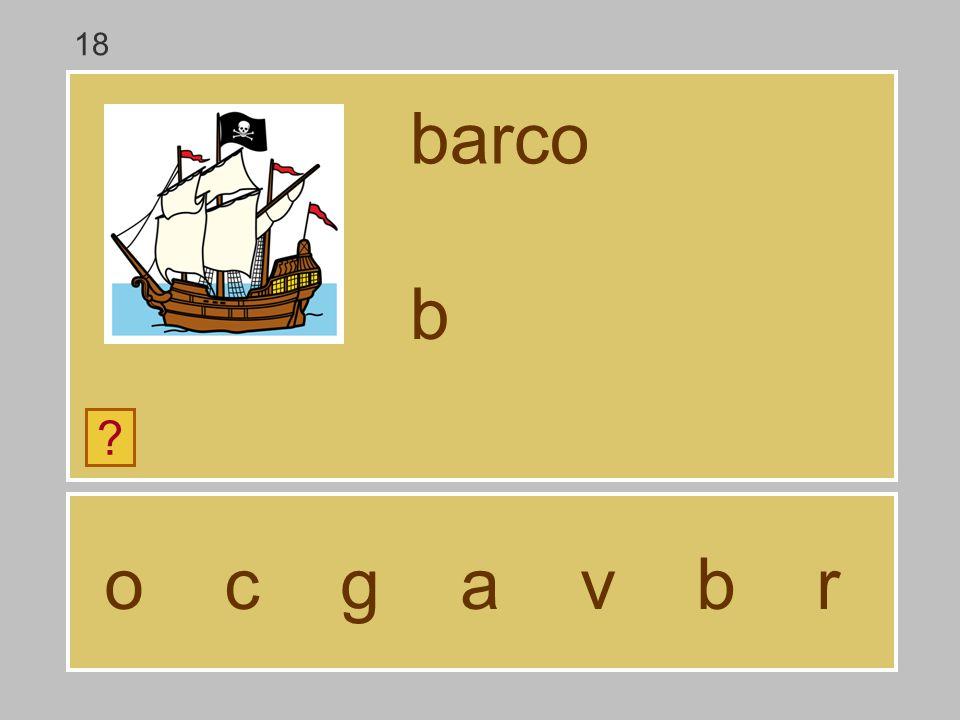 18 barco b o c g a v b r