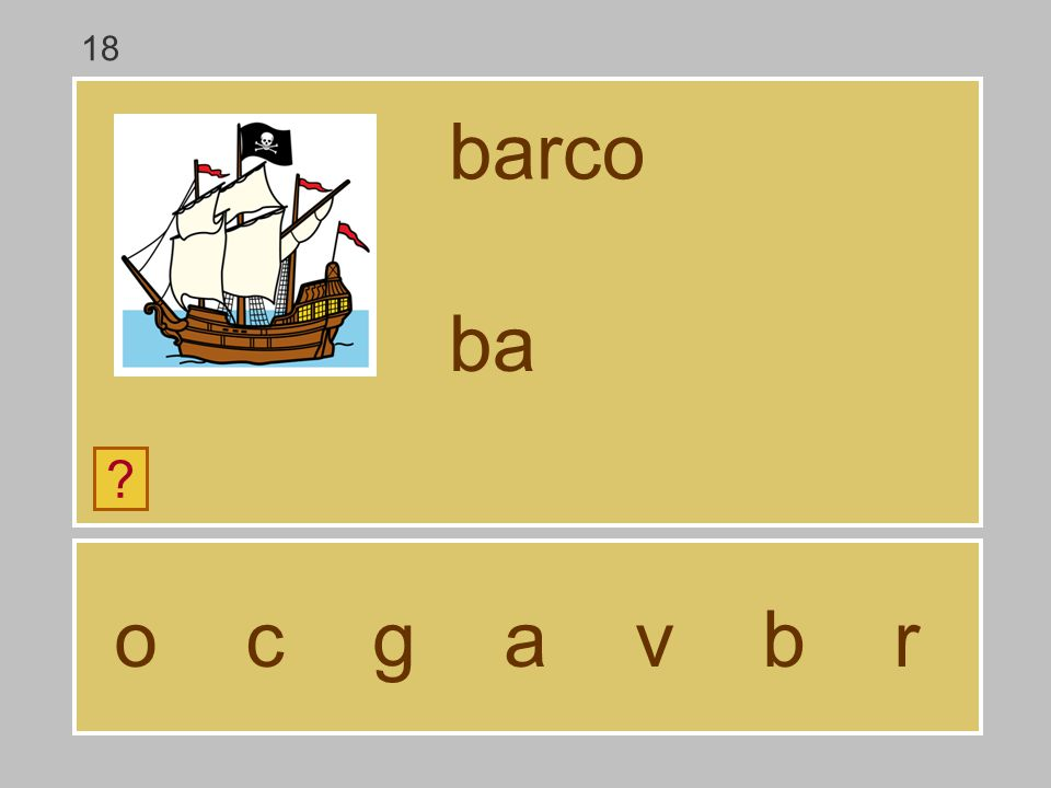18 barco ba o c g a v b r