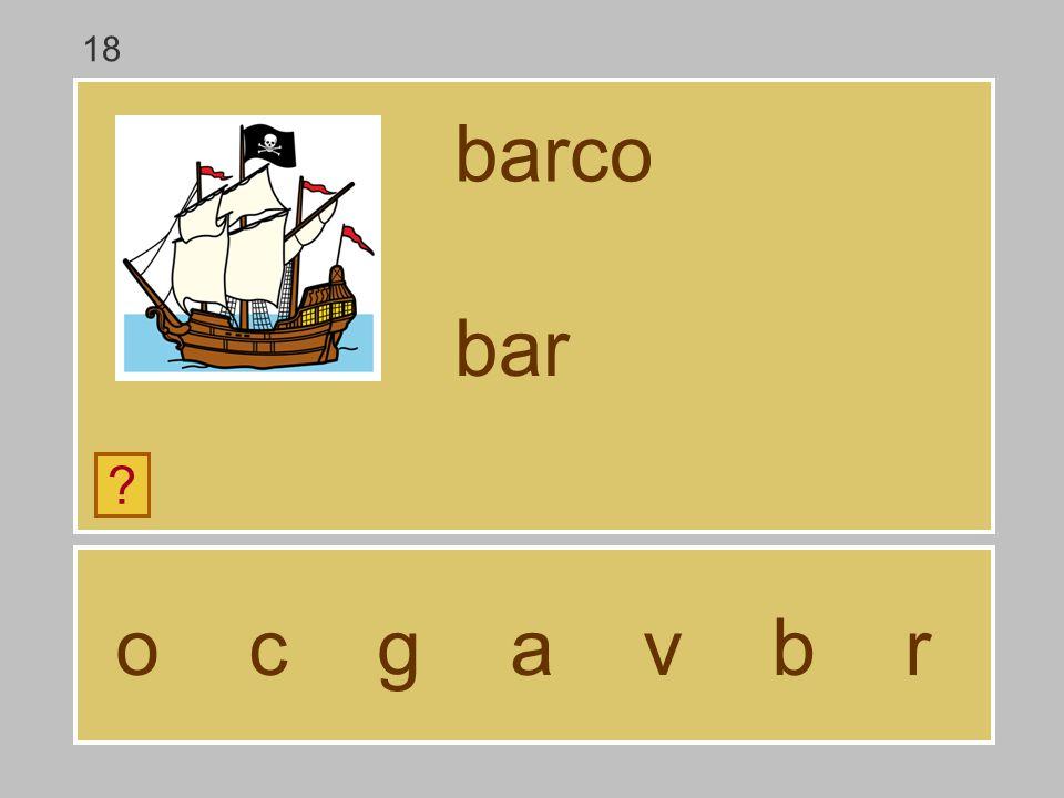 18 barco bar o c g a v b r