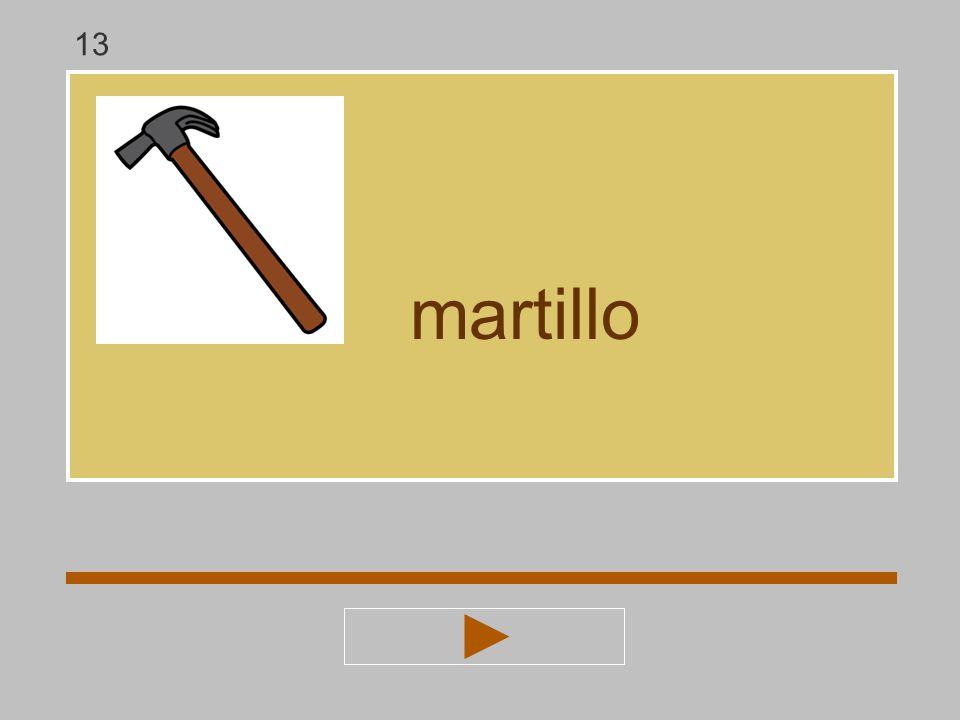 13 martillo