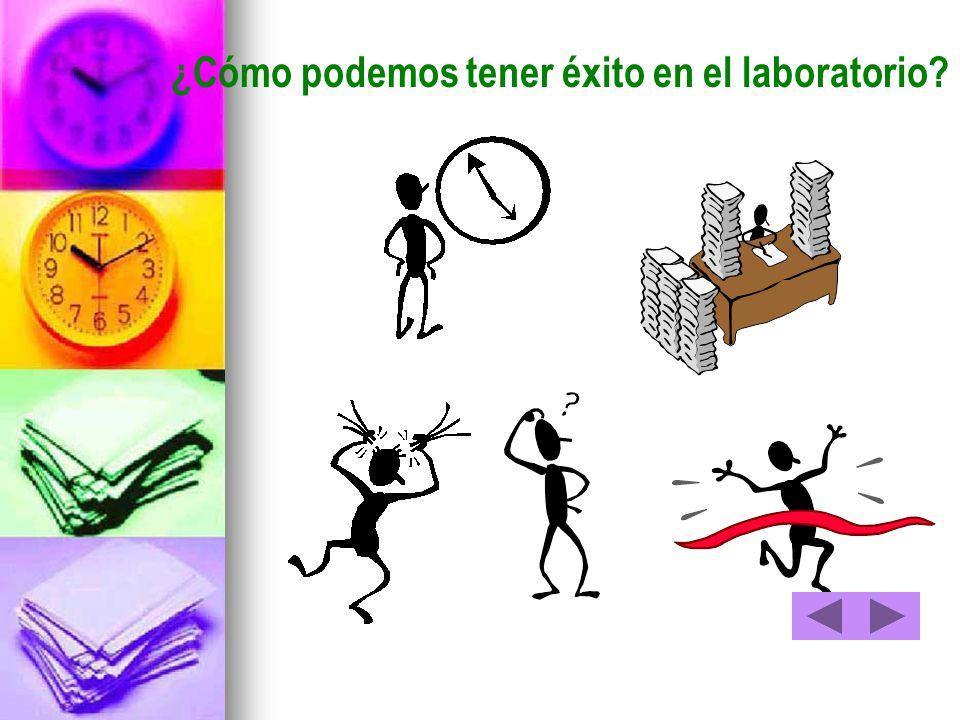 ¿Cómo podemos tener éxito en el laboratorio