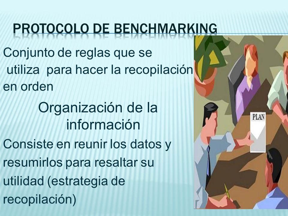 Protocolo de benchmarking