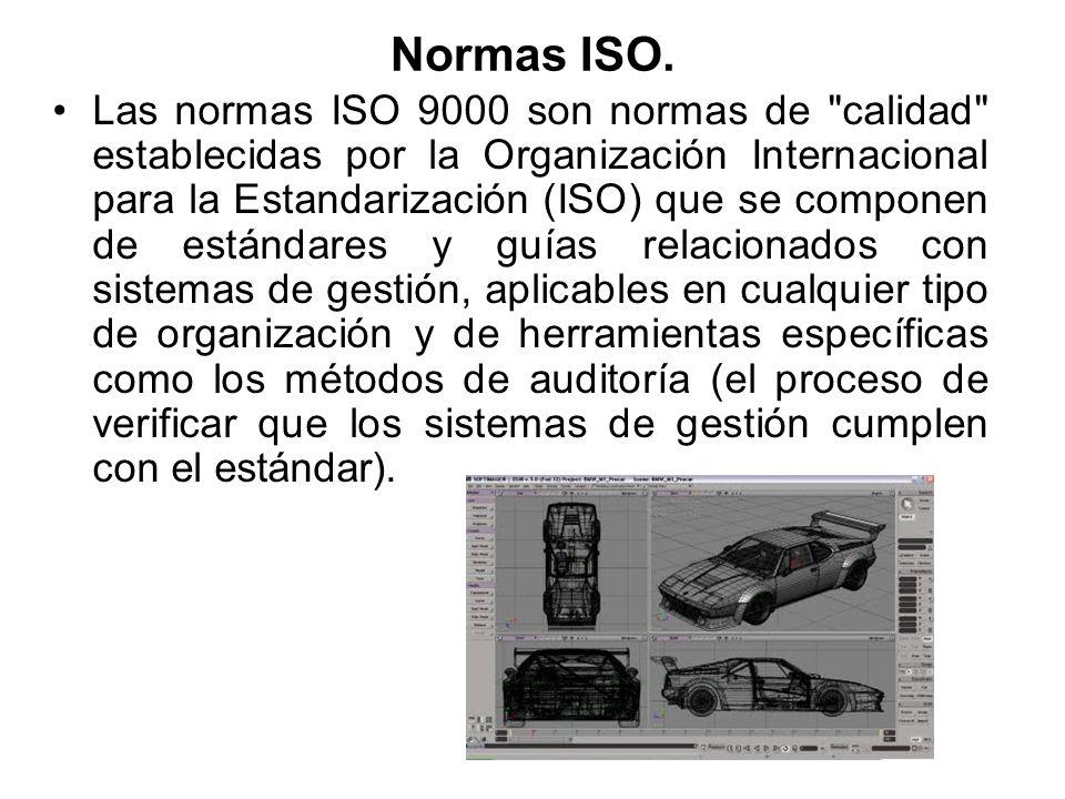 Normas ISO.