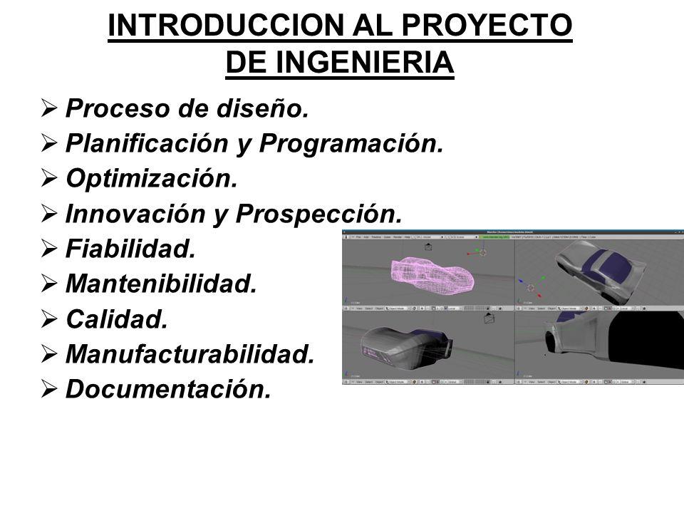 INTRODUCCION AL PROYECTO DE INGENIERIA
