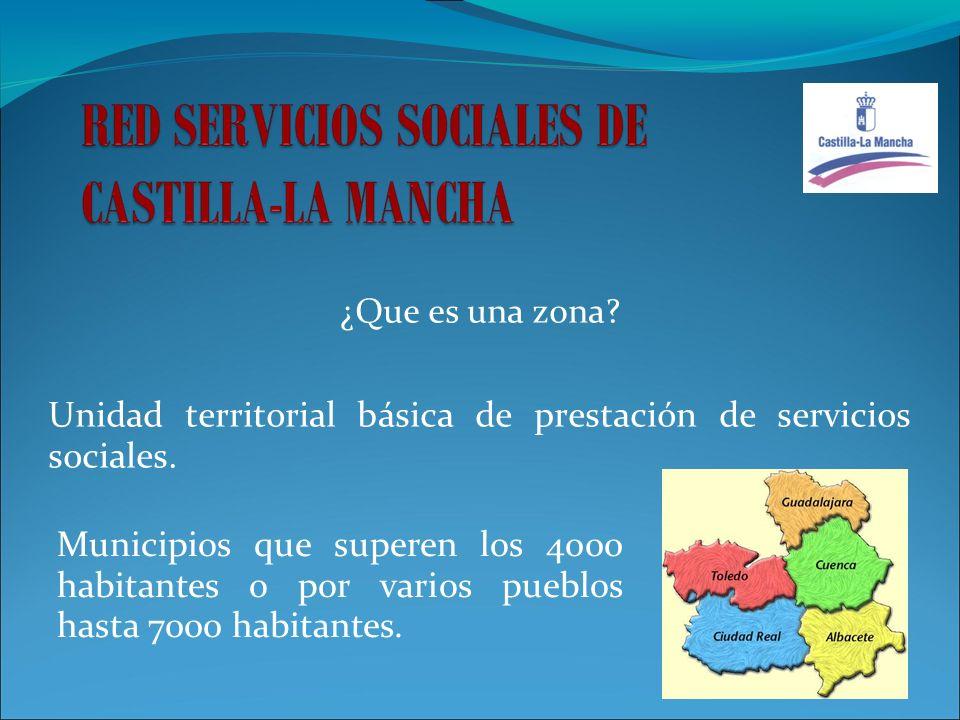 Unidad territorial básica de prestación de servicios sociales.