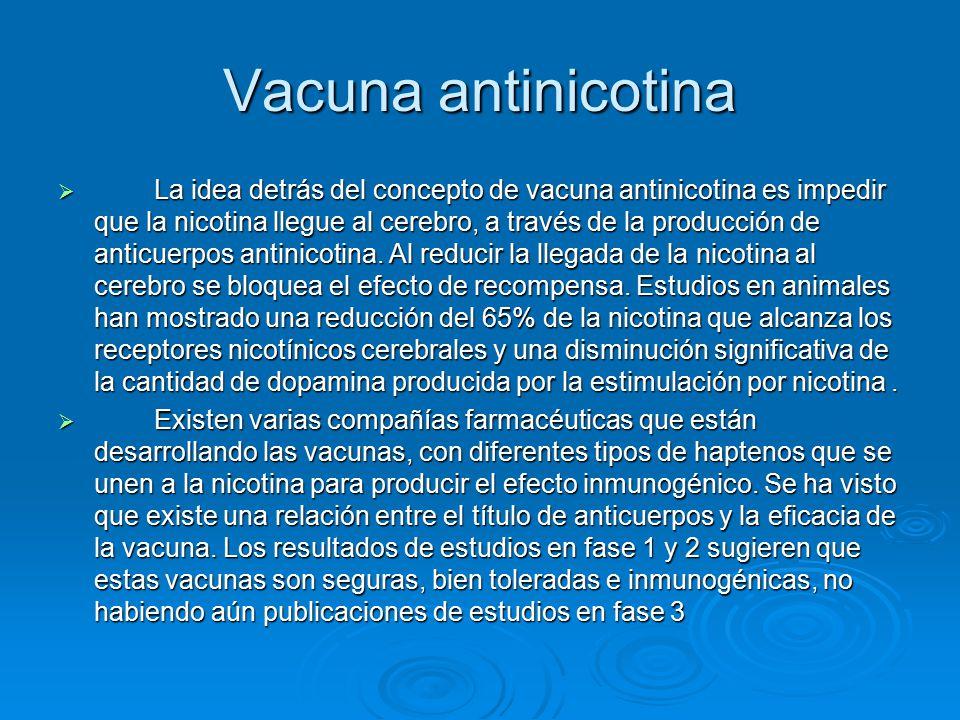 Vacuna antinicotina