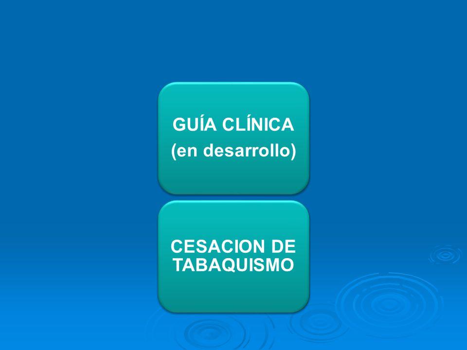 CESACION DE TABAQUISMO