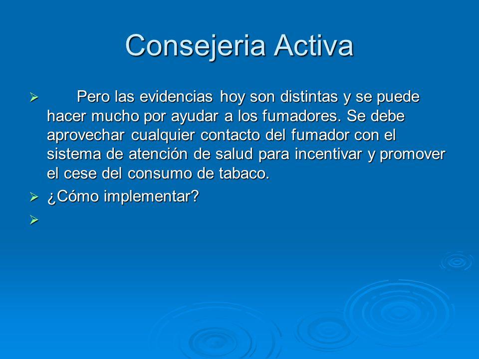 Consejeria Activa