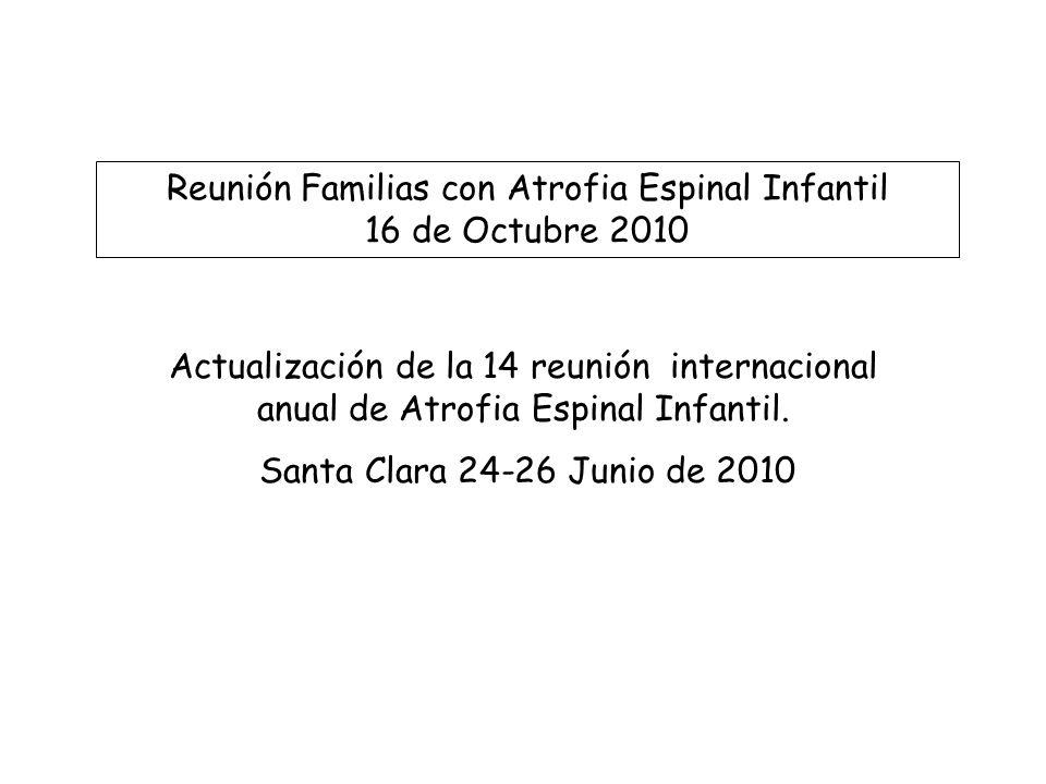 Reunión Familias con Atrofia Espinal Infantil