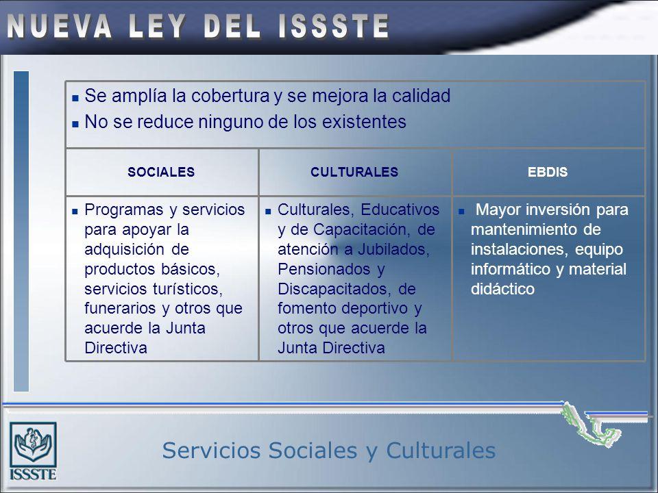 Servicios Sociales y Culturales