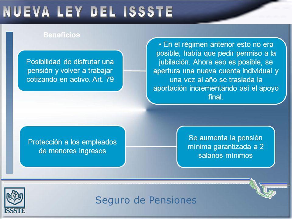 Seguro de Pensiones Beneficios
