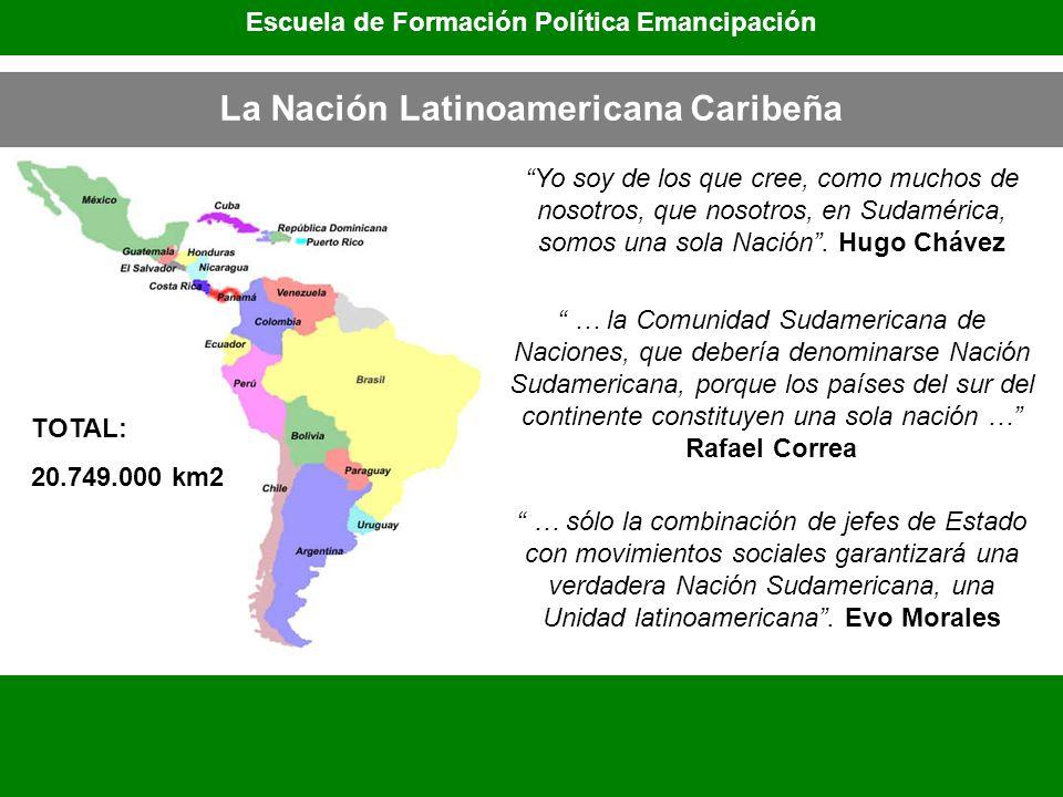 La Nación Latinoamericana Caribeña