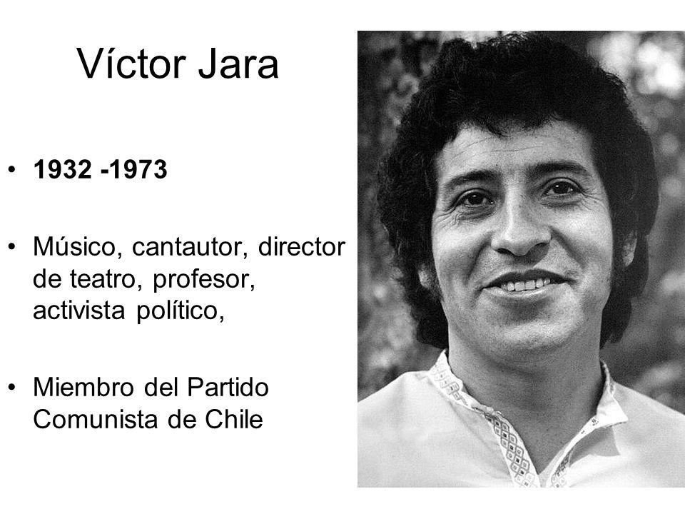 Víctor Jara 1932 -1973.