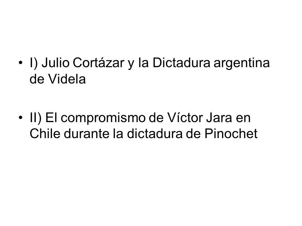 I) Julio Cortázar y la Dictadura argentina de Videla