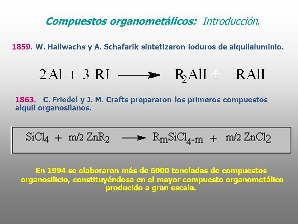 Compuestos organometálicos: Introducción.