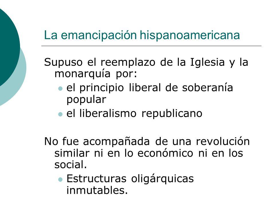 La emancipación hispanoamericana