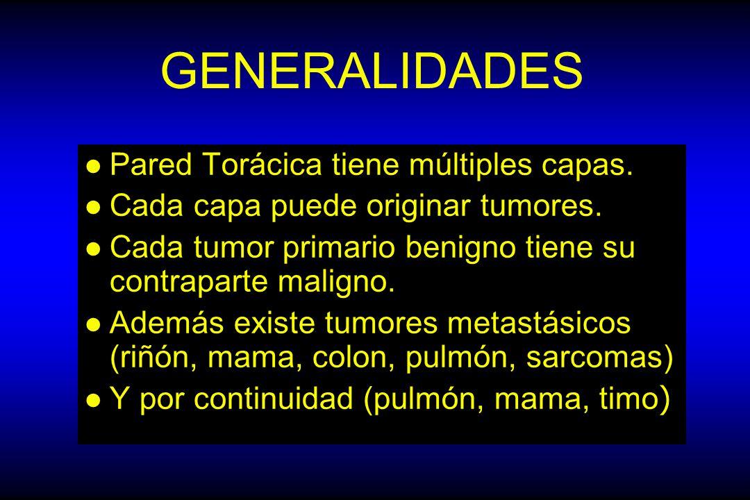 GENERALIDADES Pared Torácica tiene múltiples capas.