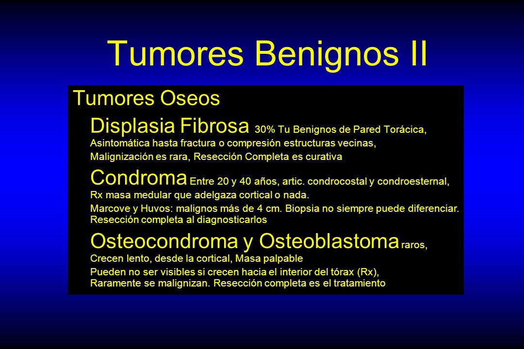Tumores Benignos II Tumores Oseos