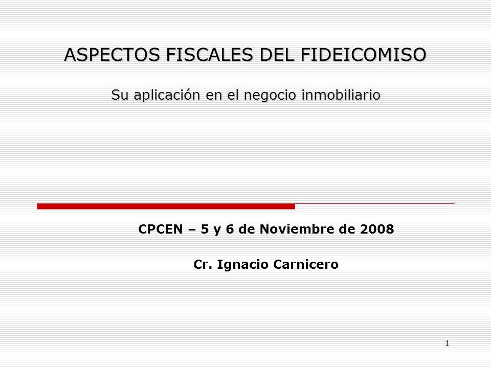 CPCEN – 5 y 6 de Noviembre de 2008 Cr. Ignacio Carnicero