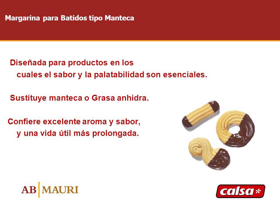 Margarina para Batidos tipo Manteca