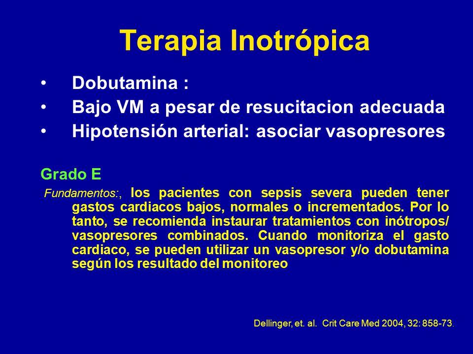 Dellinger, et. al. Crit Care Med 2004, 32: 858-73.