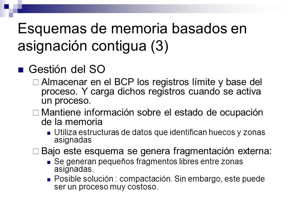 Esquemas de memoria basados en asignación contigua (3)