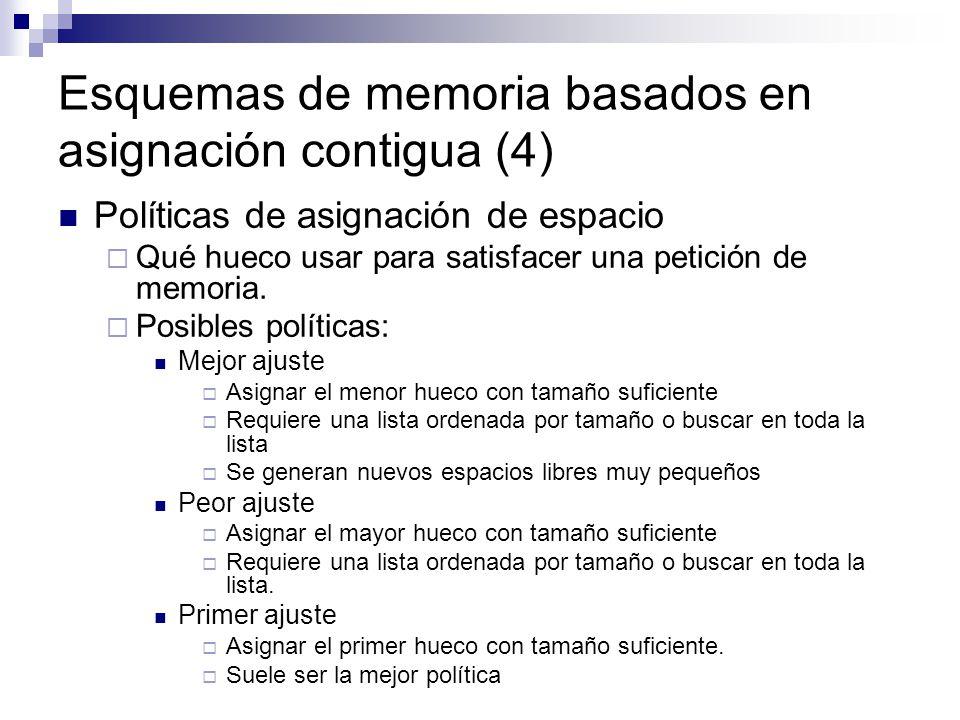 Esquemas de memoria basados en asignación contigua (4)