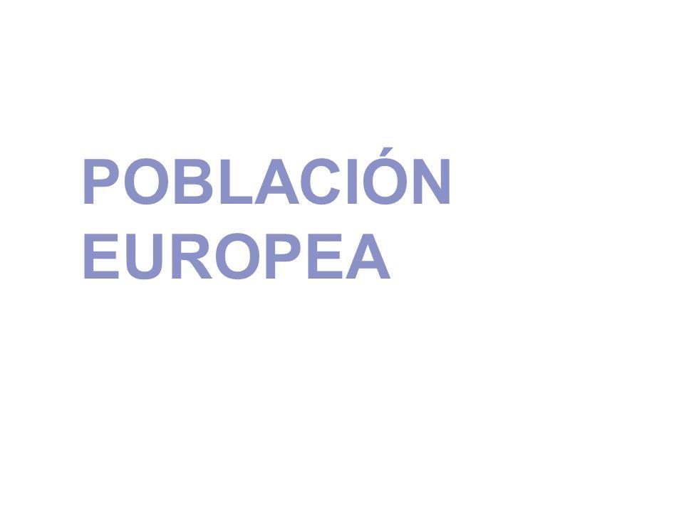 POBLACIÓN EUROPEA