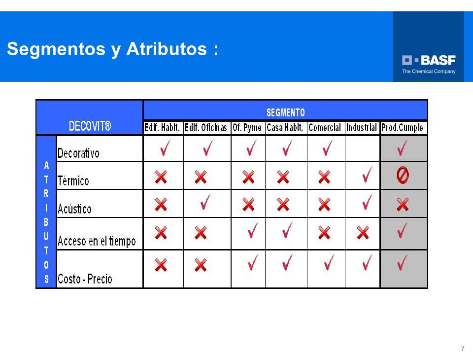 Segmentos y Atributos :