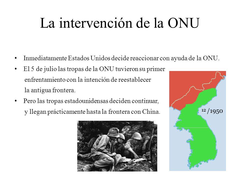 La intervención de la ONU