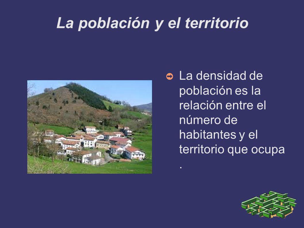 La población y el territorio