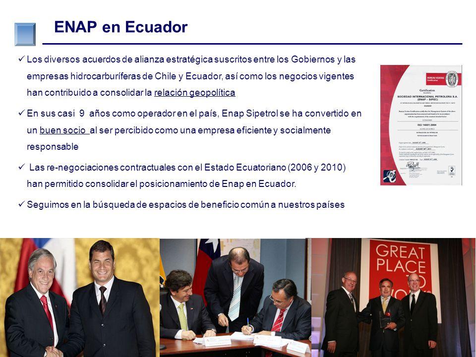 ….porque las personas y el medio ambiente son importantes para ENAP