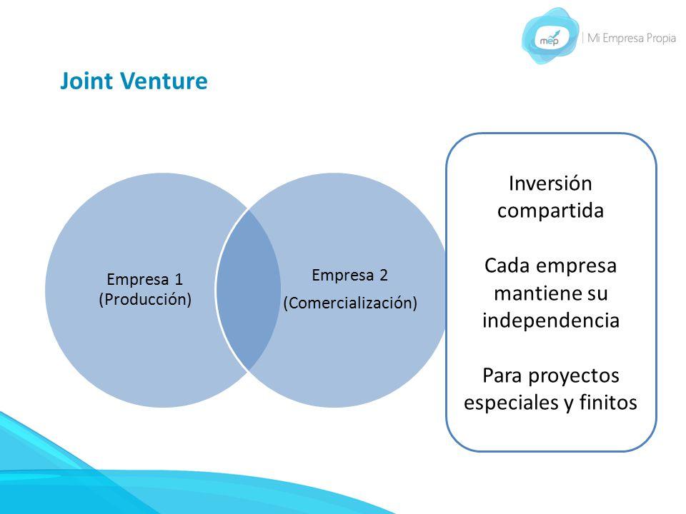 Joint Venture Inversión compartida