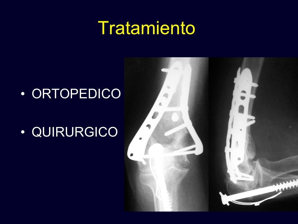 Tratamiento ORTOPEDICO QUIRURGICO