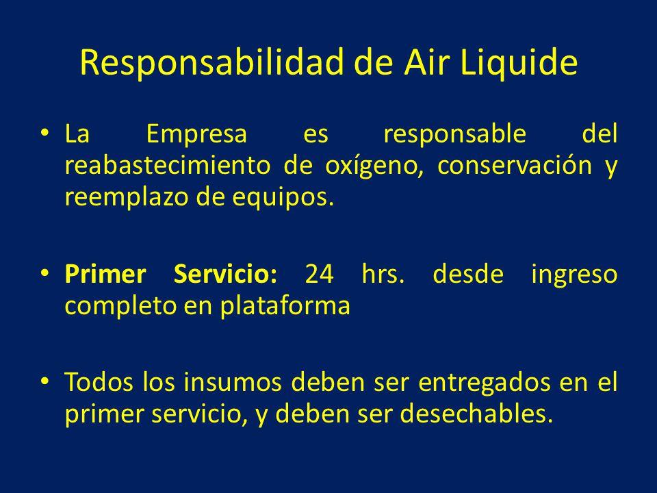 Responsabilidad de Air Liquide