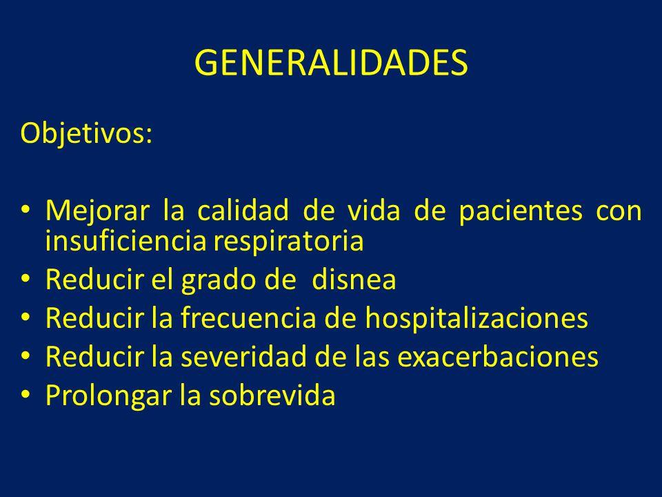 GENERALIDADES Objetivos:
