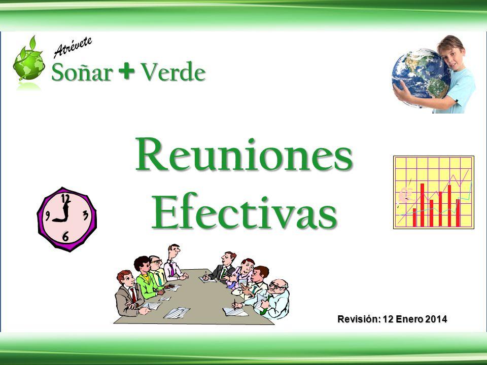 Reuniones Efectivas Revisión: 12 Enero 2014