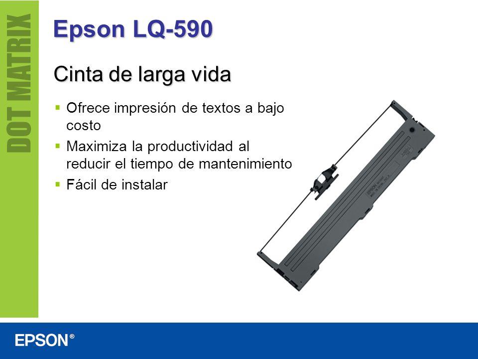 Epson LQ-590 Cinta de larga vida