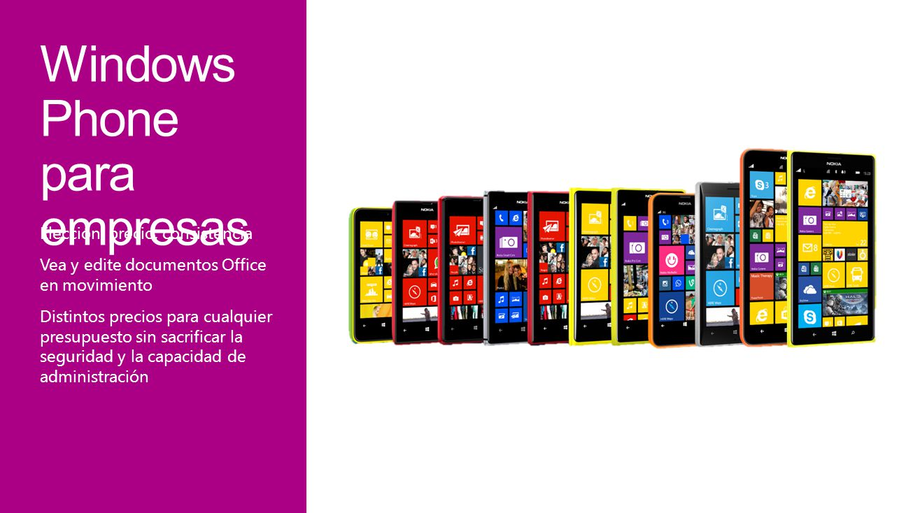Windows Phone para empresas