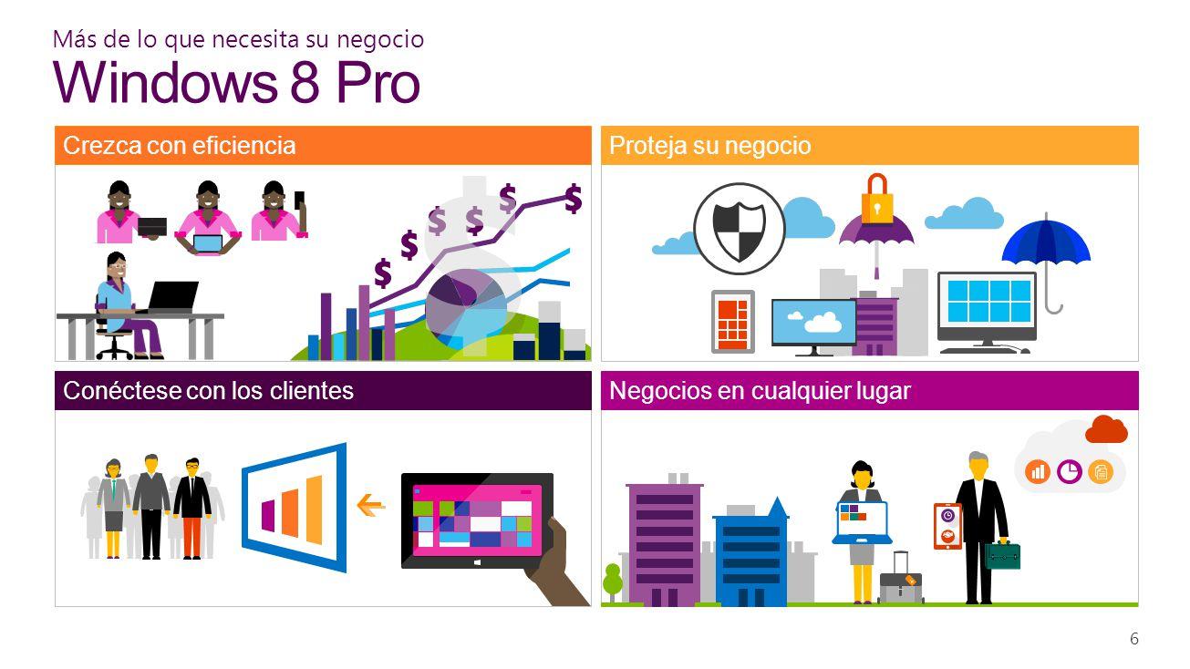 Más de lo que necesita su negocio Windows 8 Pro