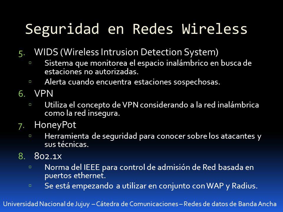 Seguridad en Redes Wireless