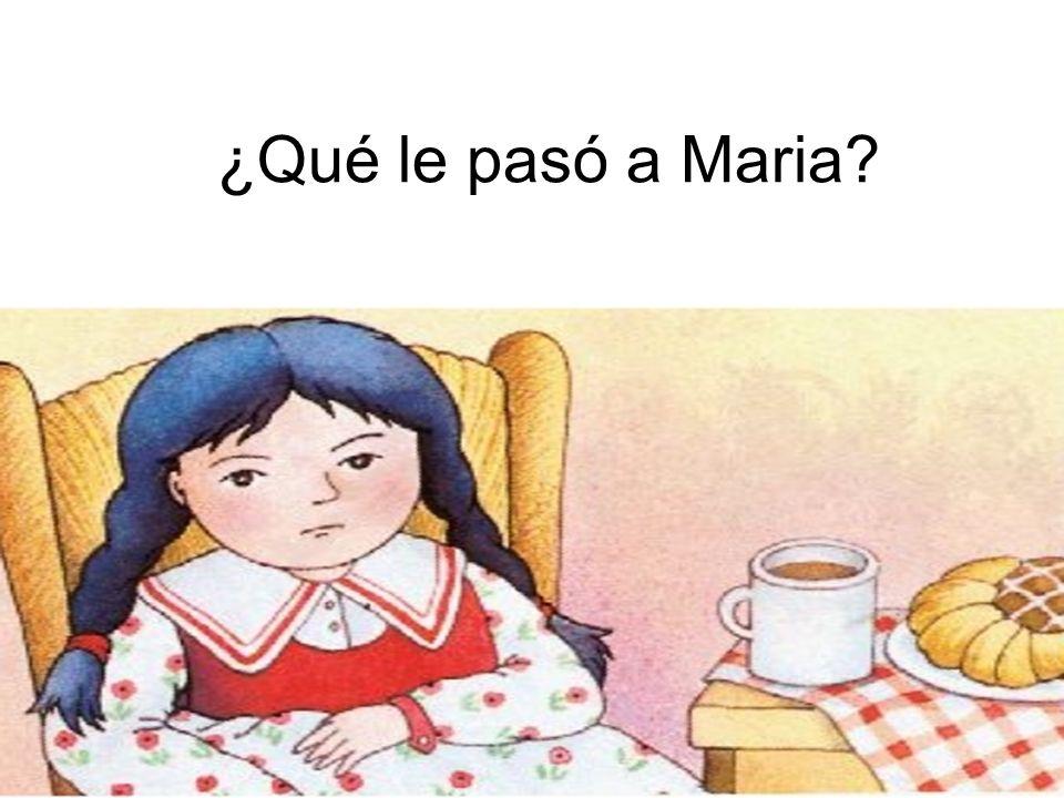 ¿Qué le pasó a Maria