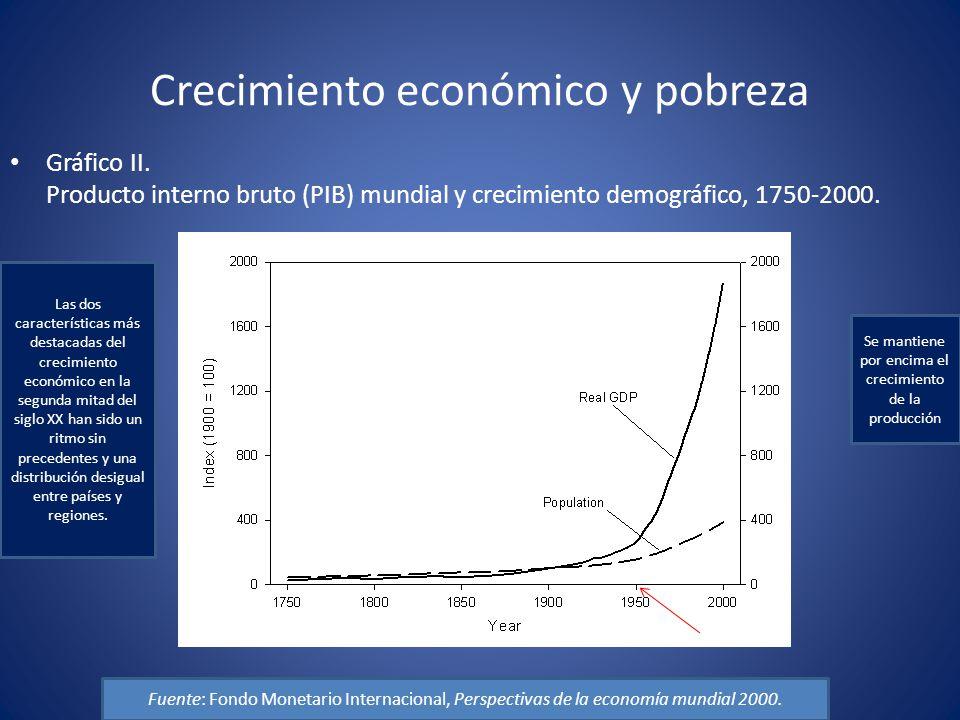 Crecimiento económico y pobreza